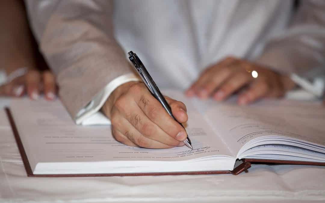 Un tour d'horizon sur l'acte de mariage et son utilité